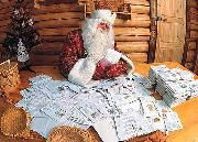 Дед Мороз получает детские письма с прошениями «дать папам и мамам работу»