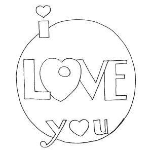 18 best I love you images on Pinterest | Coloring books, Coloring ...