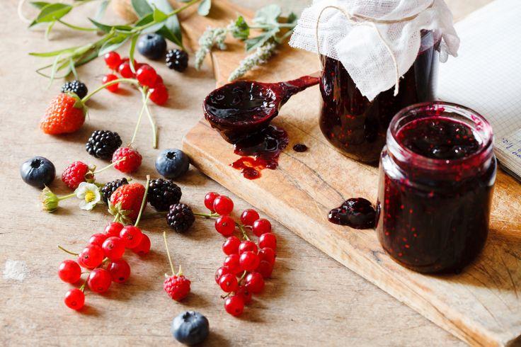 Geleia de Frutas Vermelhas - Receita de Jamie Oliver