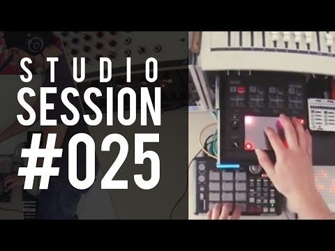 ▶ Studio Session #025: Live first-person synth touching! - YouTube