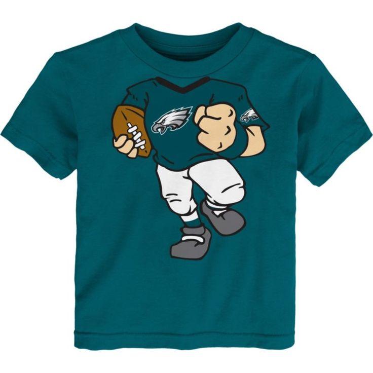 Team Apparel Toddler Philadelphia Dream Football T-Shirt, Size: 3T