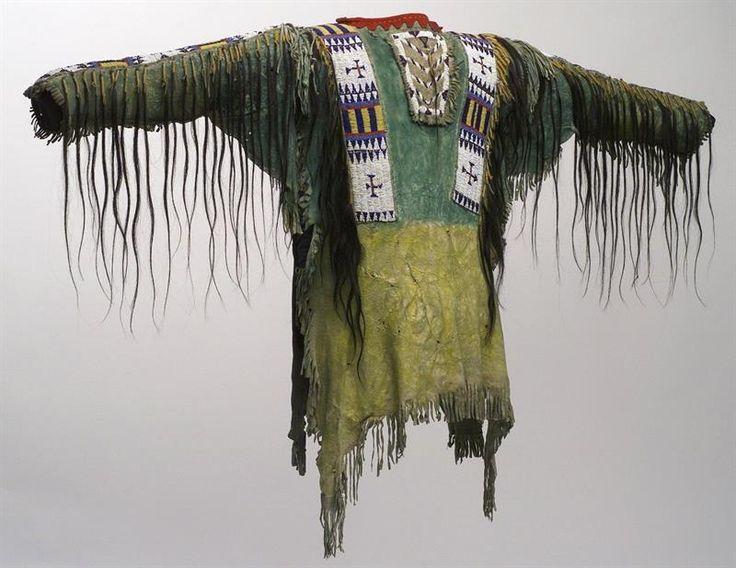 Индейская кожаная куртка