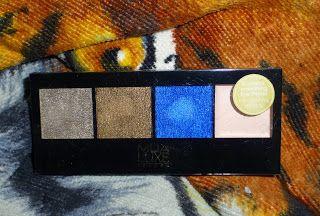 "MUA Cosmetics Luxe Metallic in ""Elemental"