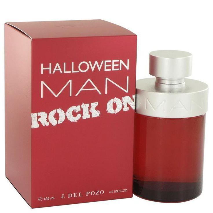 Halloween Man Rock On by Jesus Del Pozo Eau De Toilette Spray 4.2 oz