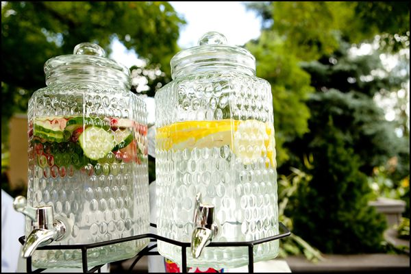 Flavored Water Station | Infused with fruit
