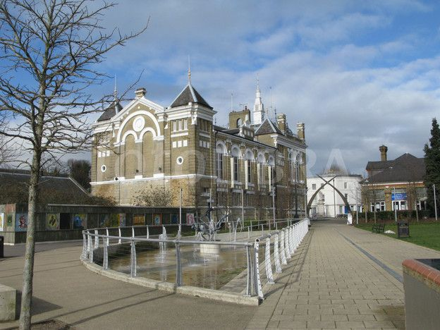 STAINES TOWN HALL Middlesex England. I was born in Middlesex