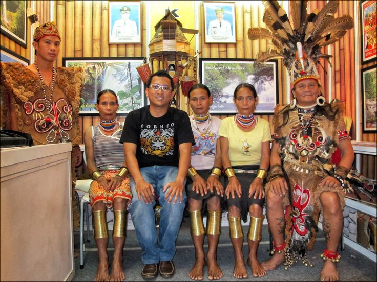 my with Dayak Sungkung