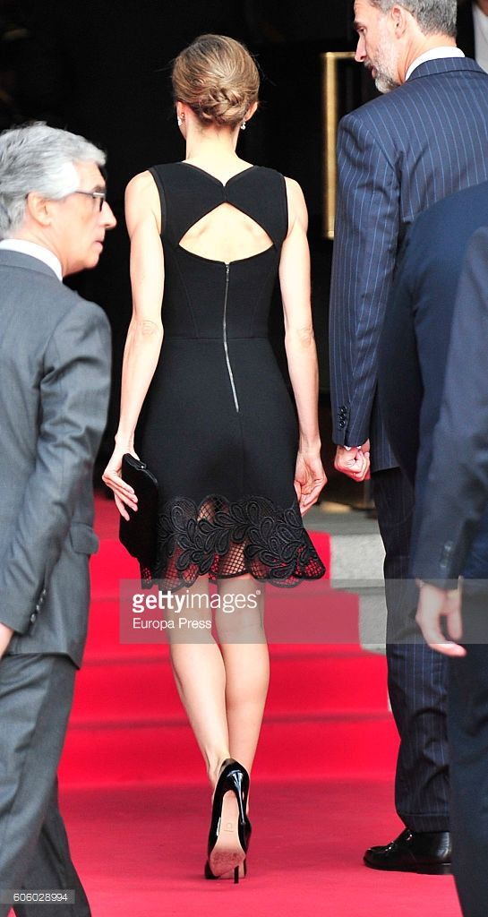 15 September 2016 - MADRID, SPAIN | Spanish Royals Attend Royal Theatre New Season Inauguration ~ Queen Letizia attends the opening of the Royal Theatre's new season on her 44th B-Day | (Photo by Europa Press/Europa Press via Getty Images)