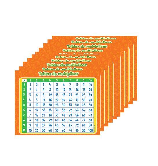 Pack Sticker Tablas De Multiplicar -> http://www.masterwise.cl/productos/24-matematicas/1785-pack-sticker-tablas-de-multiplicar