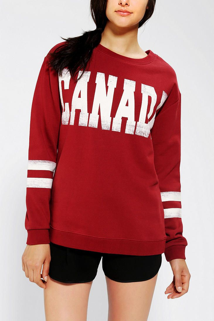 Graphic Design + CAD work for Urban Outfitters Sparkle & Fade Canada Sweatshirt
