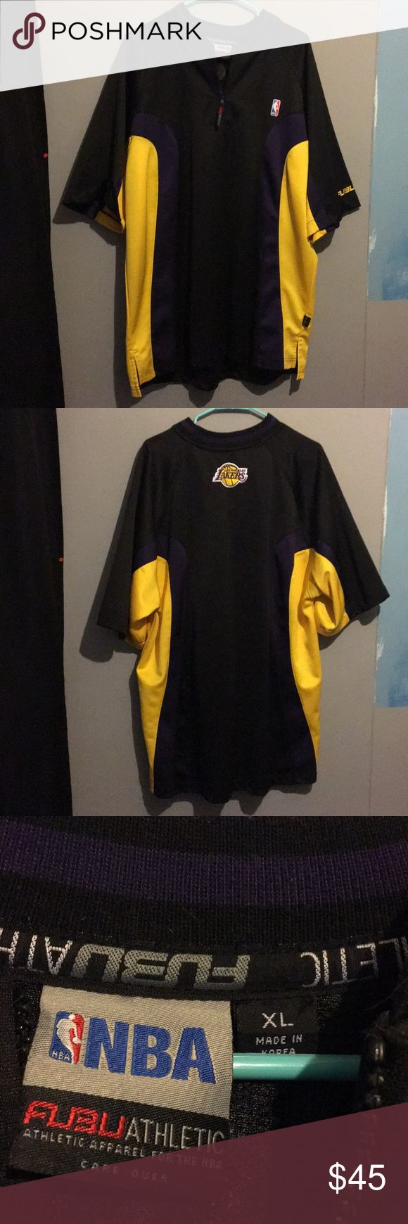 Fubu Lakers Shirt Never worn, perfect condition Shirts Dress Shirts