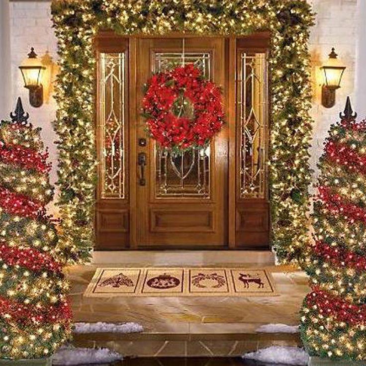 Patio Christmas Decorations Interior Design
