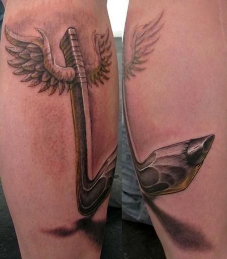 25 Best Ideas About Pencil Tattoo On Pinterest: 17 Best Images About Hockey Tattoos On Pinterest