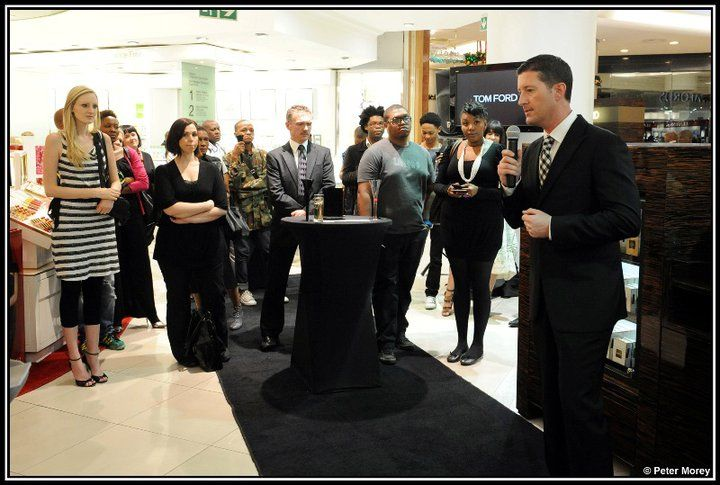 Tom Ford Launch 2010 - Sandton City