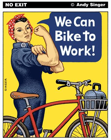 We can bike to work!