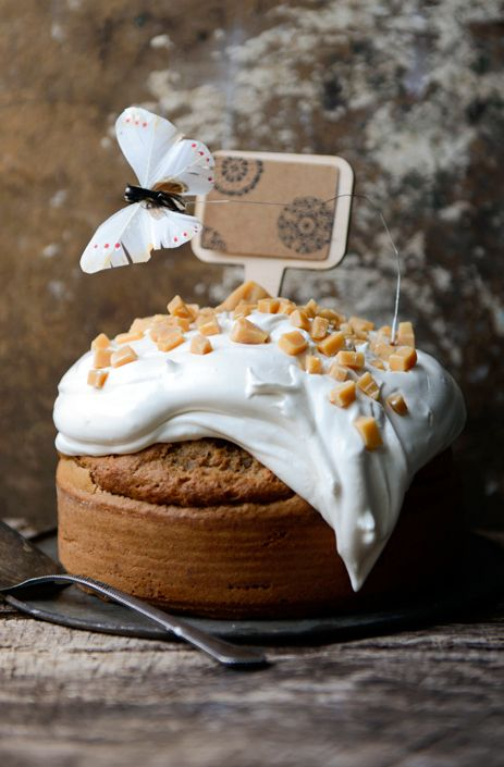 see the three tier candied pecan cake with brown butter pears in our ...