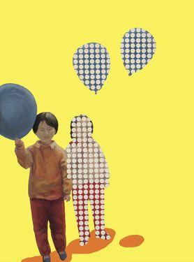 """Saatchi Online Artist Linyuan Wei; Painting, """"Childwood"""" #art"""
