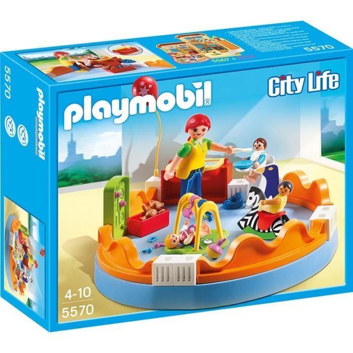 bonplan jouets cdiscount playmobil 5570 espace crche avec bbs