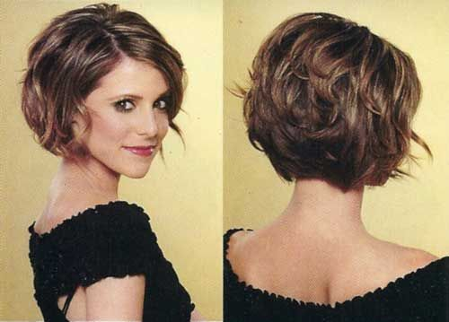 inverted+bob+cuts+front+and+back | Layered is one of the very trendy and beautiful types of bob haircut ...