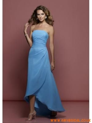 Cornflower blue bridesmaid dress long. Like the style but in an emerald green