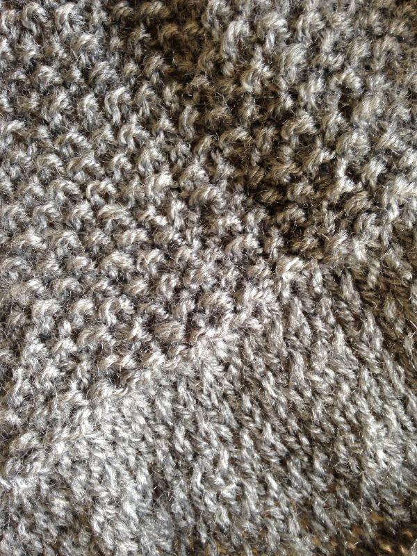 Un pull facile en une partie -DIY Tricot-