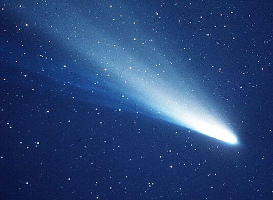 An image of Halley's Comet taken in 1986. Credit: NASA