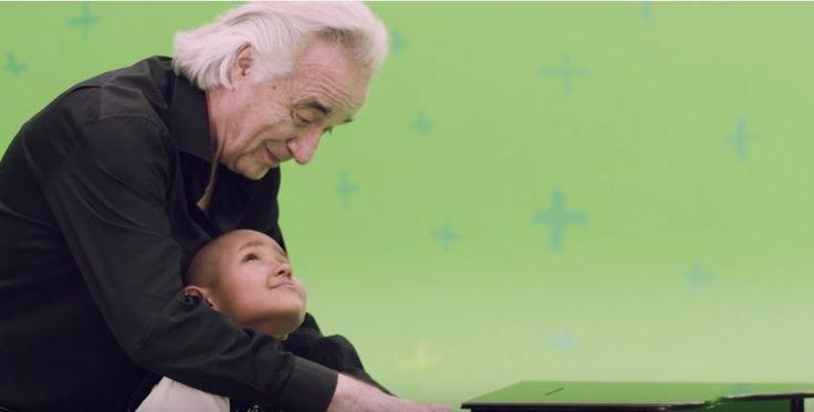 Graacc une famosos e crianças com câncer em campanha