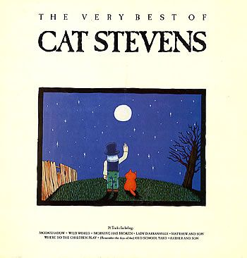 cat stevens album covers - spent many a night falling asleep to this album in college