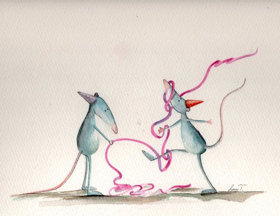 Party-Rats by silaloba on Etsy