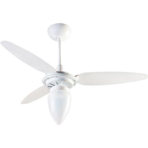 Americanas Ventilador de Teto Ventisol Wind Branco 3 Velocidades Super Econômico - R$89,90