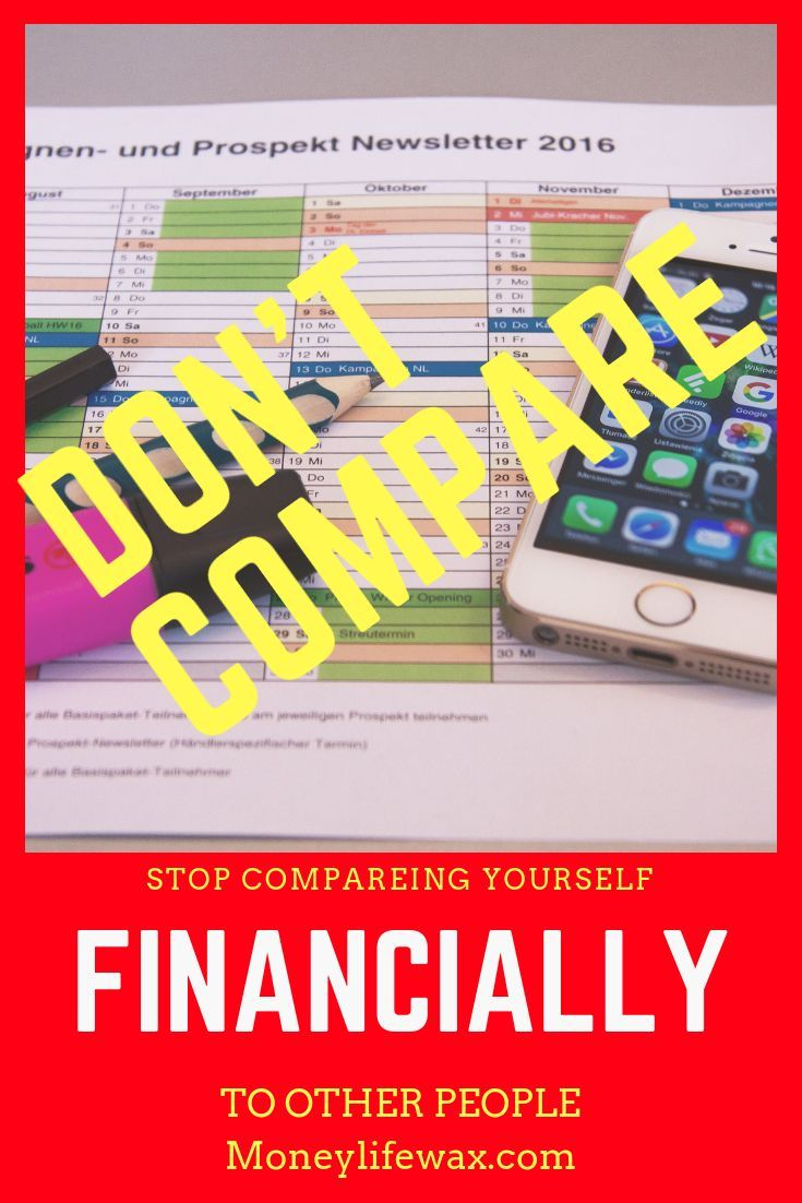 Stop Comparing Yourself To Others Financially Student Loan Help