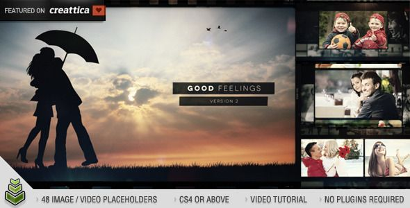 Good Feelings v2 — AE Template #emotional #photo album • See it in action → https://videohive.net/item/good-feelings-v2/3531439?ref=pxcr