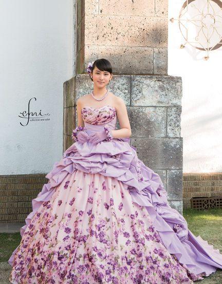 Japanese Model Emi Takei in Wedding Dress