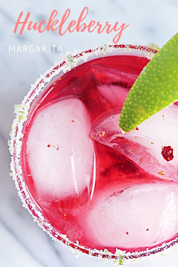 Huckleberry Margarita inspired by all things summer and the Shore Lodge in McCall, ID | CB EATS