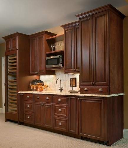that built in wine cooler is awesome!: Interior, Traditional Kitchens, Cabinet Colors, Style, Wet Bars, Kitchen Ideas, Kitchen Remodel, Wine Coolers