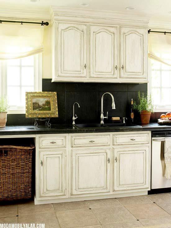 Natural Slate Backsplash with dark maple cabinets - Bing ... on Kitchen Backsplash With Natural Maple Cabinets  id=96553
