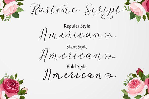 Rustine Script by cooldesignlab on @creativemarket