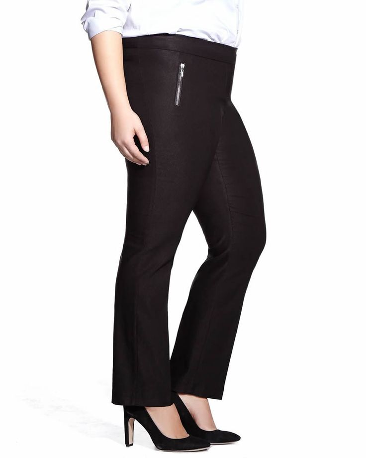 Plus Size Straight Leg Original Comfort Pants