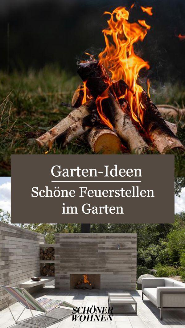Aussergewohnliche Feuerstelle Kamin Fur Die Terrasse Bild 10 Feuerstelle Feuerstelle Garten Garten