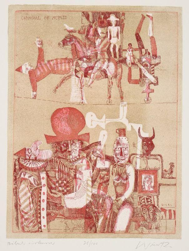 Ádám Würtz – Carnival of Puppets