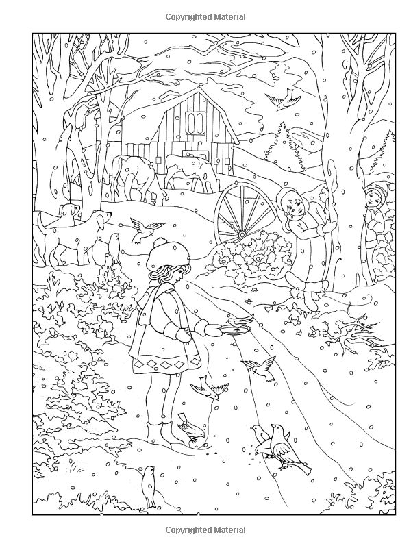180 best Coloring pages to print - Christmas time images on ...