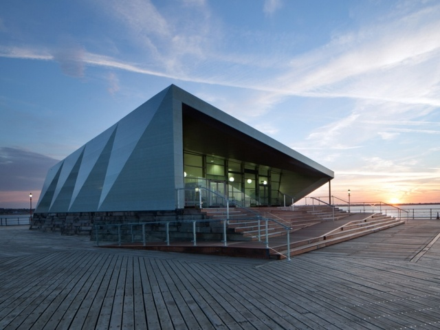 Southend Pier Cultural Centre by White arkitekter and Sprunt - News - Frameweb