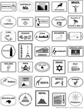 Refreshing image pertaining to printable passport stamps for kids