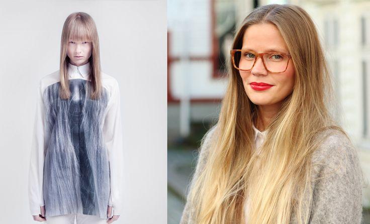 KAIBOSH   Rising Norwegian design talent SIGNE RODE RIO wears EASY in BUTTERSCOTCH