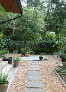 Mid Century Modern Renovation - midcentury - Landscape - Atlanta - Clark & Zook Architects, LLC