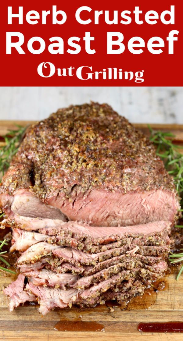 Jun 19, 2020 – Roast beef doesn't have to be boring, dry and tasteless. You will love this simple herb rub on a beef roa…