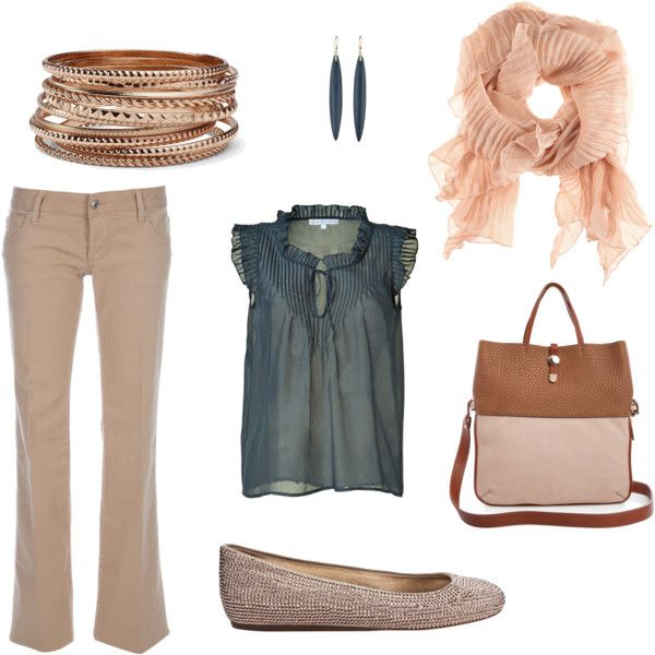Summer Work Outfit, created by kgentert on Polyvore.