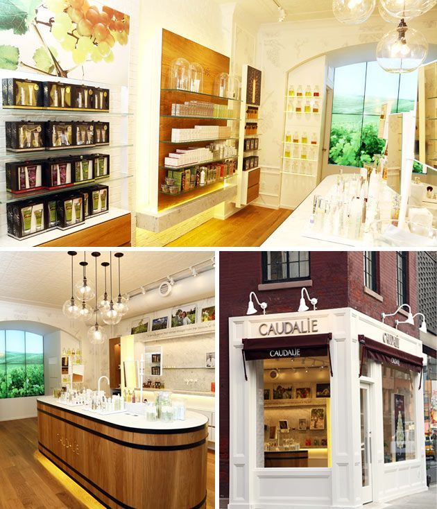 Caudalie Opens Its First Store