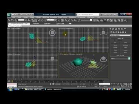 TUTORIAL 3DS MAX - 1 - INTRODUCCION A LA INTERFAZ Y FUNCIONES BASICAS