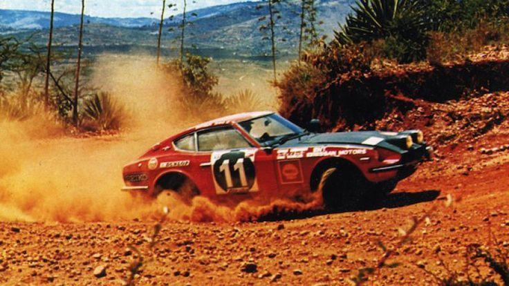 Club to restore amazeballs Datsun Safari Rally Z